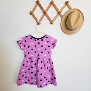 [Gymboree] quilted polka dot dress